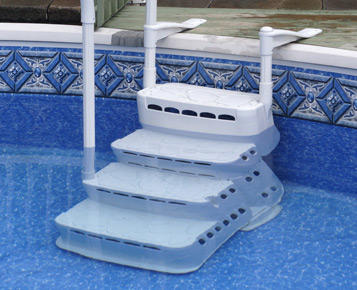 Escalier aquarius pvc