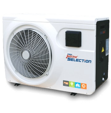 JetlineSelection 18kw Modele 180 TRI pompe a chaleur piscine Poolex